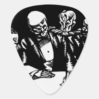 Death's Hand guitar pick
