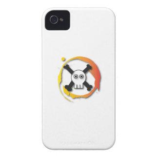 Death's head iPhone 4 case