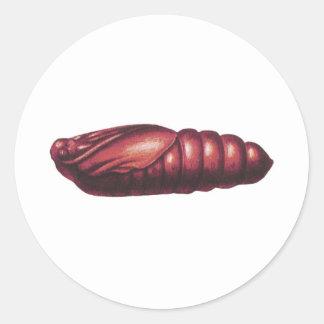 Death's Head Hawk Moth Round Sticker
