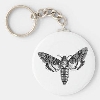 Death's-Head Moth Key Ring