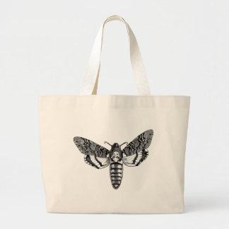 Death's-Head Moth Large Tote Bag