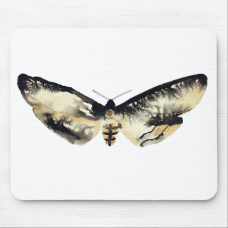 Death's Head Moth Mouse Pad