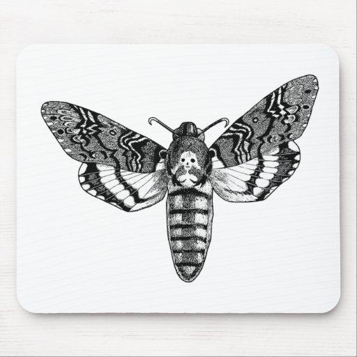 Death's-Head Moth Mousepads