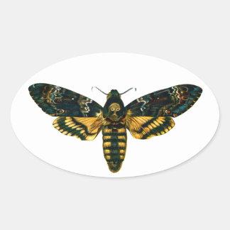 Death's Head Moth Sticker