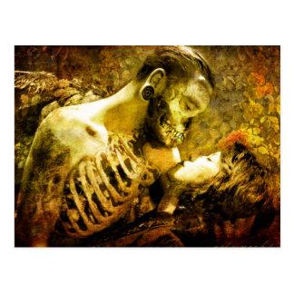 Deaths Sweet Kiss Postcard