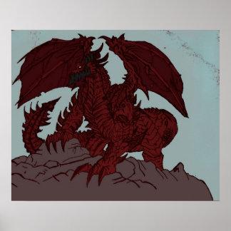 Deathwing art poster