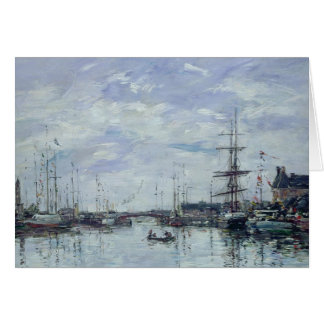 Deauville, the Dock, 1892 Card