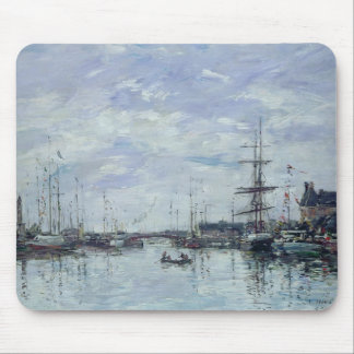 Deauville, the Dock, 1892 Mouse Mat