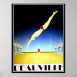 Deauville Vintage Poster