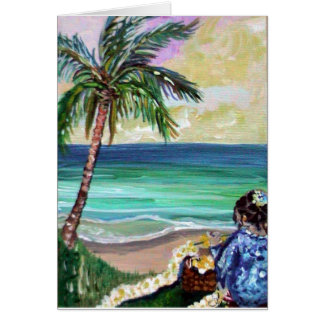 deb lei maker greeting card