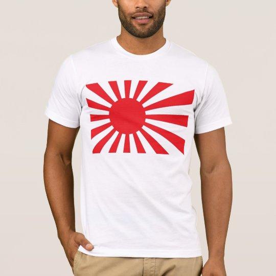 DEBACLE JAPAN FLAG T SHIRT