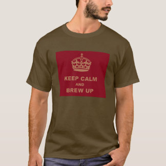 DEBACLE KEEP CALM AND BREW UP T-Shirt