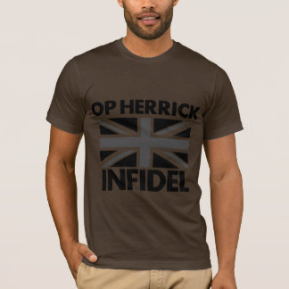 DEBACLE UK ARMY INFIDEL HERRICK T SHIRT