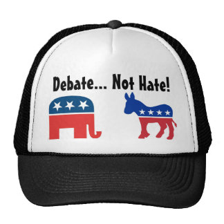 Debate, Not Hate - Political Hat