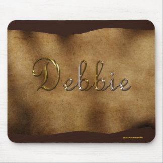DEBBIE Personalised Parchment-effect Mousemat