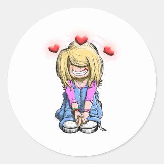 Debby Love Sticker