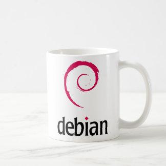 Debian Basic White Mug