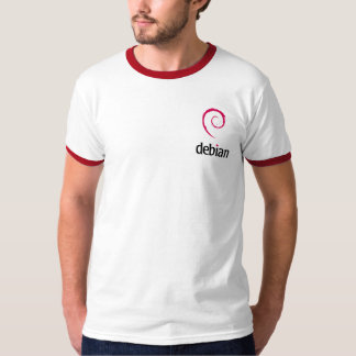 Debian Grey T-Shirt