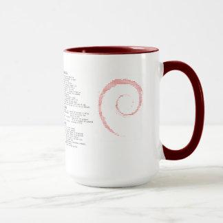 Debian Mug