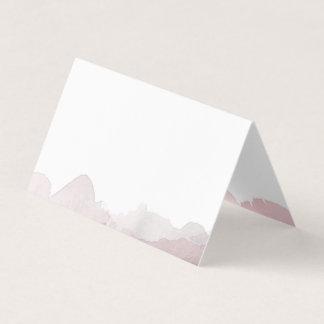 Debonair Pink Wedding Place Card