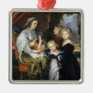 Deborah Kip and Her Children Christmas Ornament