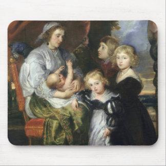 Deborah Kip and Her Children Mouse Mat