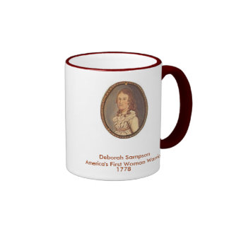 Deborah Sampson America's First Woman Warrier Coffee Mug