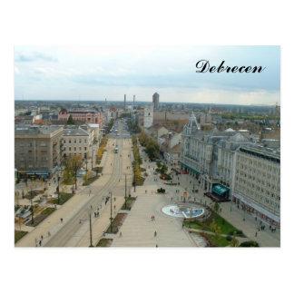 Debrecen Postcard