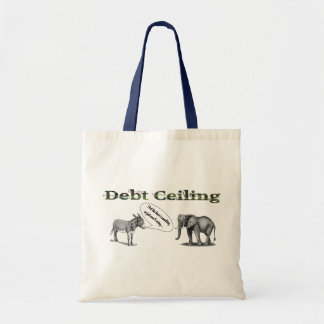 Debt Ceiling Camouflage Tote