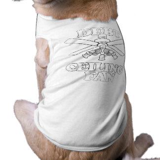DEBT CEILING FAN DOG TSHIRT