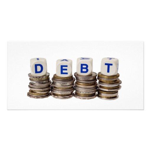 Debt Photo Card Template