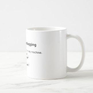 Debug Mug: Six Stages of Debugging Basic White Mug
