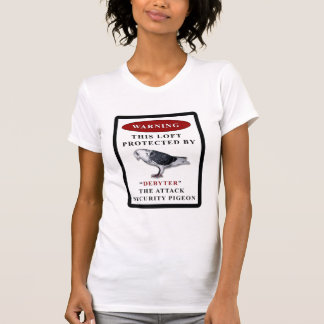 DEBYTER LOFT SECURITY PIGEON T-Shirt