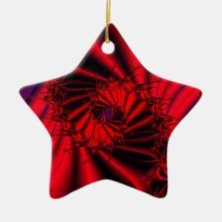 Decadence Ceramic Star Decoration