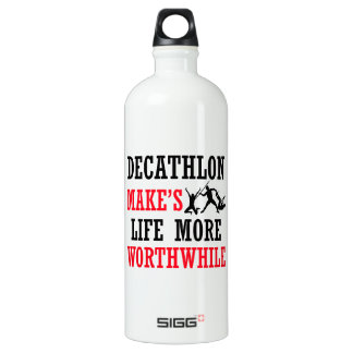 decathlon design SIGG traveller 1.0L water bottle