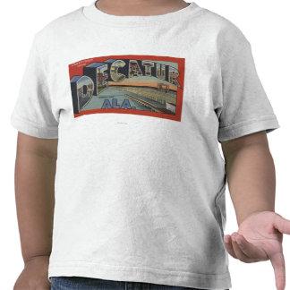 Decatur Alabama - Large Letter Scenes Tshirt