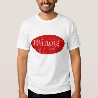 Decatur Illinois Red Tshirt