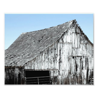 Decayed Barn Photo Print