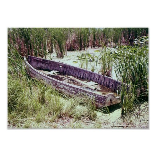 Decaying Rowboat Poster