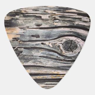 Decaying Wood Guitar Picks