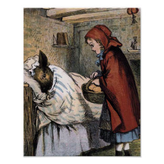 Deceiving Red Riding Hood Poster