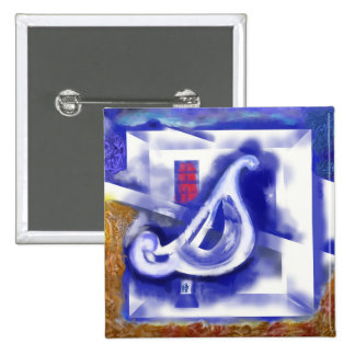 December 12 15 cm square badge