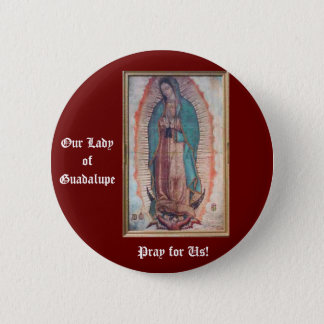 December 12   Our Lady of Guadalupe 6 Cm Round Badge