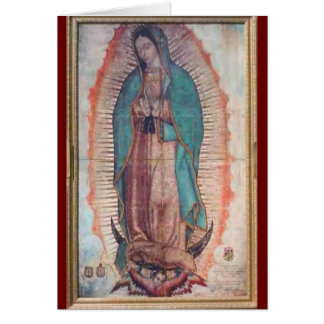 December 12   Our Lady of Guadalupe Card