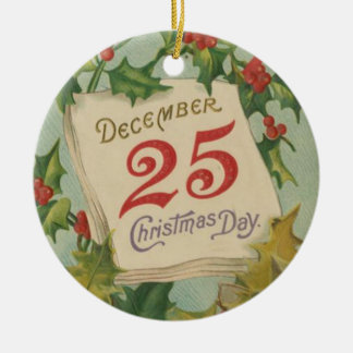 December 25th Christmas Day Christmas Ornament