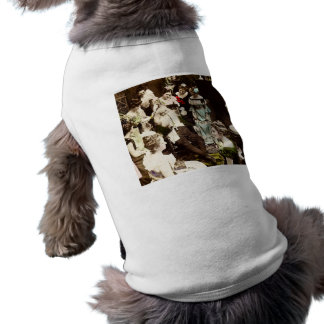 December 26th - Hand Colored Vintage Sleeveless Dog Shirt