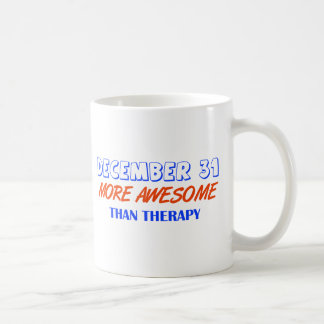 december 31design basic white mug
