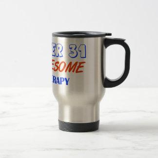 december 31design stainless steel travel mug