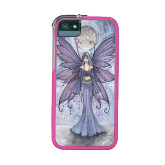 December Blue Fairy Fantasy Art by Molly Harrison Case For iPhone 5