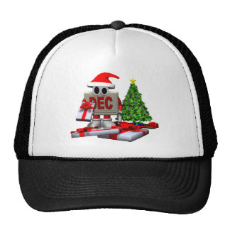 December Christmas Holiday Cap